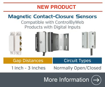 Announcing Magnetic Contact-Closure Sensors