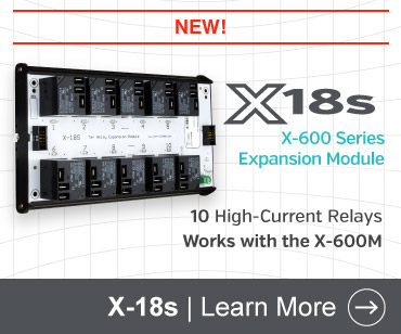 X-18s 10-Relay Expansion Module