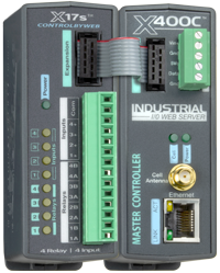 X-400C Cellular-Enabled Relay Control Kit